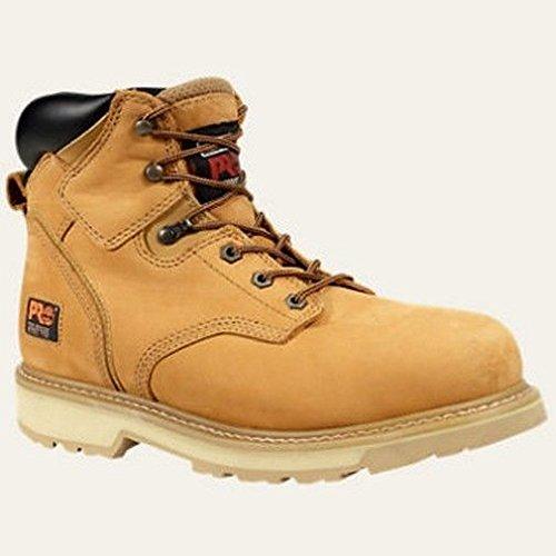 Timberland PRO Men's Pitboss 6″ Soft-Toe Boot,Wheat,8 M