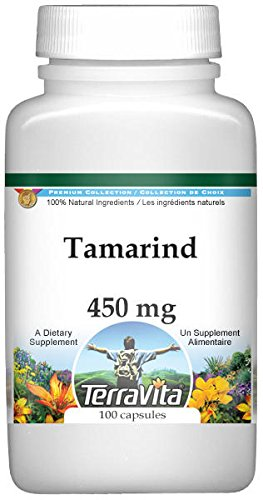 Tamarind - 450 mg (100 Capsules, ZIN: 521505) - 3 Pack by TerraVita