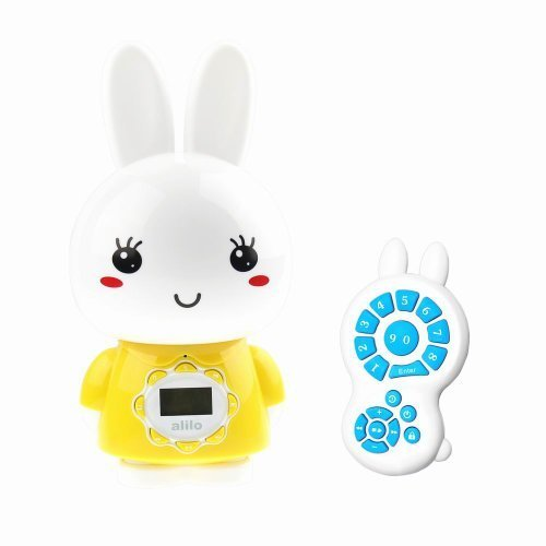 Alilo G7 Big Bunny digital MP3 player for kids with LCD screen and remote control, Yellow by Alilo [並行輸入品]   B019X70O1A
