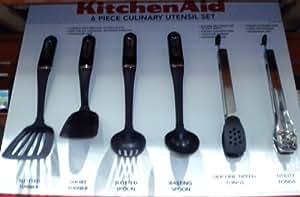 Amazon.com: KitchenAid Cooks 6-piece Culinary Utensil Set