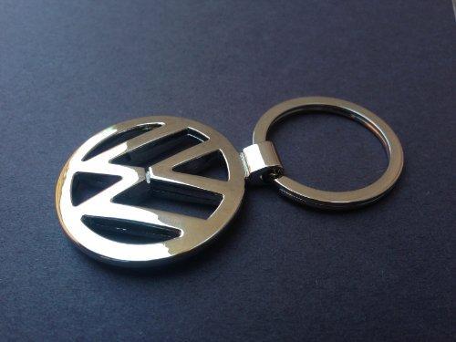 (1 X Volkswagen Chrome 3d Logo)