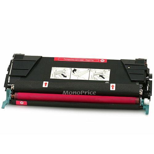 le Laser Toner Cartridge for LEXMARK COLOR C522n, C524, C530dn, C532n, C534dn (MAGENTA) (C5222ms Magenta Laser)