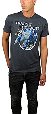 Transformers Mens Vintage Transformers Graphic Tee