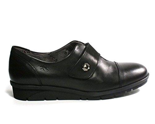 Fluchos Zapato Velcro 9642 Negro