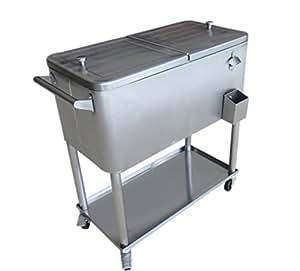 Amazon Com Permasteel 80 Quart Portable Cooler In