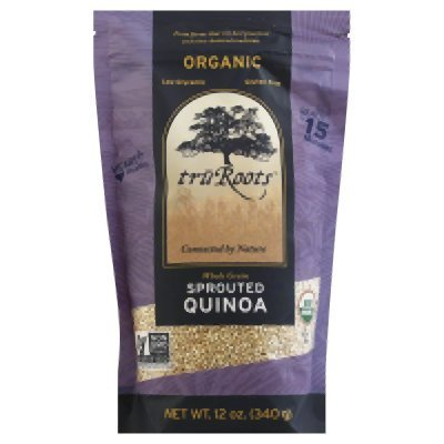 Sprouted Quinoa Organic 12 Ounces (Case of 6) by truRoots