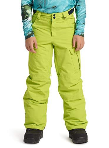 Boys Boot Snowboard Youth - Burton Boys' Exile Cargo Snow Pant, Tender Shoots, X-Small