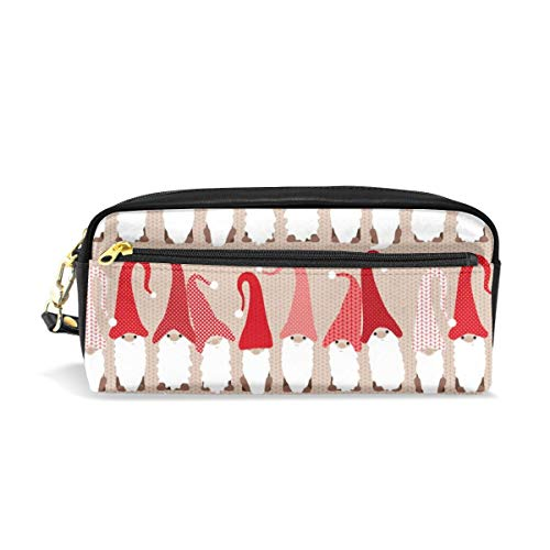 Gnome Friends - Small_620 Cosmetic Bags Portable Travel Makeup Organizer Multifunction Case Bags for Women (Gnome Bead)