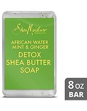 Shea Moisture African Water Mint & Ginger Detox Shea Butter Soap, 230g