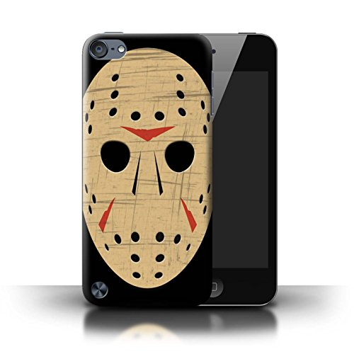 STUFF4 Phone Case/Cover for Apple iPod Touch 5/Jason Vorhees Mask Inspired Design/Horror Movie Art Collection ()