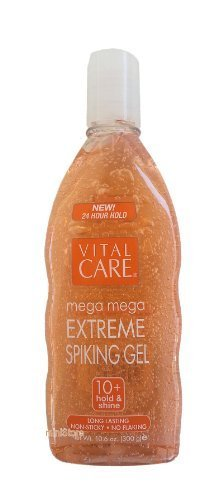 Vital Care EXTREEM Spiking Hair Gel Super Hold All Day Non Sticky 10.6 oz. (4 Pack)... iwgl
