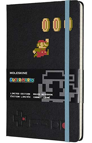 Super Mario X (Moleskine Limited Edition Super Mario Notebook, Hard Cover, Large (5