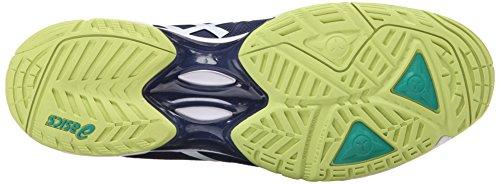 ASICS Herren Gel-Solution Speed �? Tennisschuh Indigo Blau / Weiß / Limone