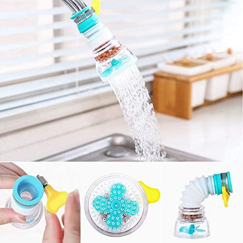 Home Water Saving Tank Retractable Rotating Tap Water Filter Kitchen Bathroom Sink Accessories Spray Filter Faucet Extender