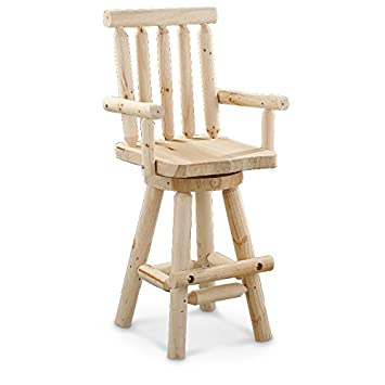 CASTLECREEK Log Bar Stool