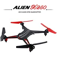 Eshion 2.4G 4CH 6 Axis X250 CF Mode Drone Headless RC Quadcopter With LED Lights Black