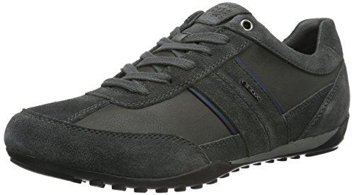 Geox Mænds Brønde 3 Mode Sneaker Mørkegrå WB7pGbFK