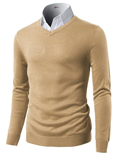 H2H-Mens-Casual-Slim-Fit-Pullover-Long-Sleeve-Basic-Sweater