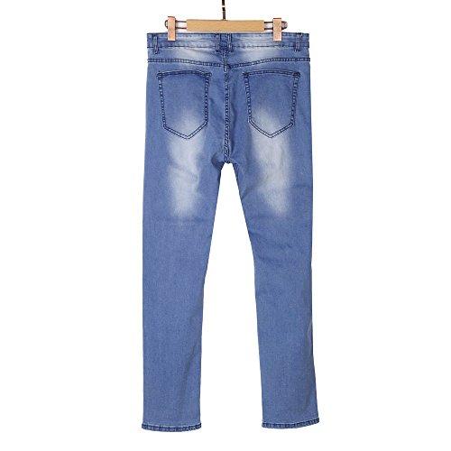 Celucke Blu Pantaloni Celucke Uomo Chino Chino Uomo Pantaloni Chino Blu Celucke Pantaloni 0wqdqZS