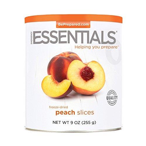 Emergency Essentials Freeze Dried Peach Slices - 9 oz by Emergency Essentials