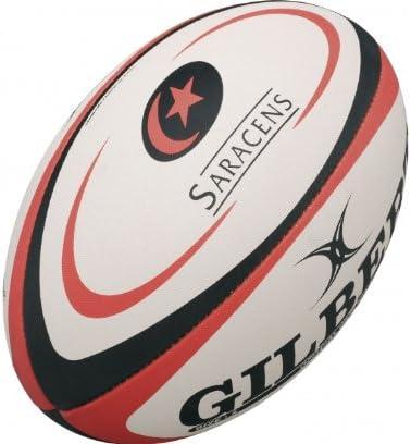 GILBERT Mini Ballon de Rugby de l'Équipe de Saracens, Mini