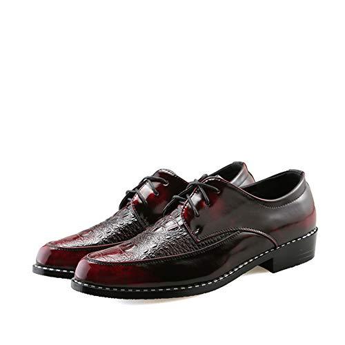 Hombres los la Oxford Marrón Oxford la cabelludo Personalidad de de del Zapatos 1bb346