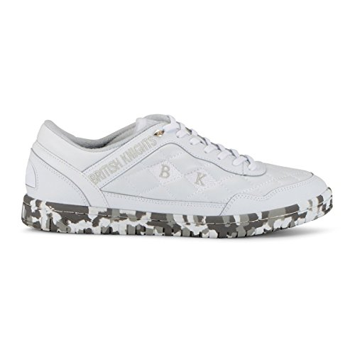 Sneaker Camo Oxford Quilted Quilts Leather Men's White 46InxYn