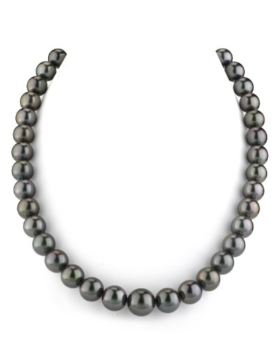 10mm Black Tahitian Cultured Pearl - 9