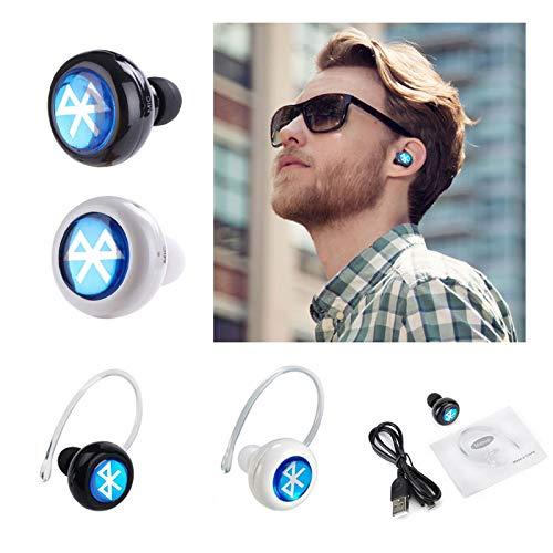 Auriculares inalámbricos Bluetooth, Manos Libres, Auriculares, Auriculares estéreo, Auriculares intraurales para teléfono móvil con micrófono para Huawei ...