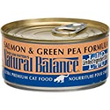 Natural Balance Limited Ingredient Diets Salmon and Green Pea Formula Canned Cat Food, My Pet Supplies
