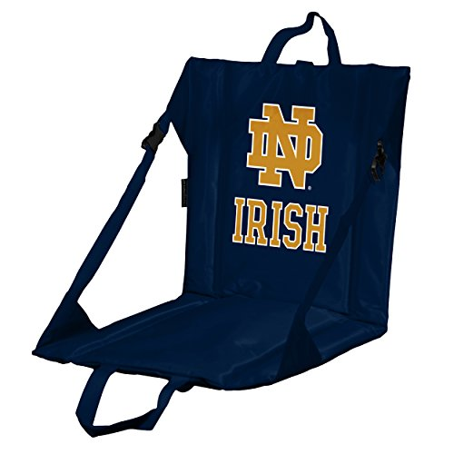 - Logo Brands NCAA Notre Dame Fighting Irish Stadium Seat, Navy