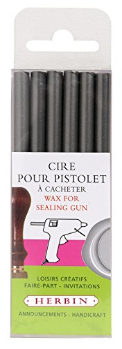 Guns 6/Pack Silver (Decorative Sealing Wax)