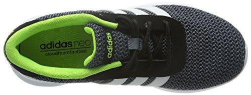 adidas Lite Racer, Men's Low-Top Sneakers Black - Schwarz (Core Black/Running White/Electricity)