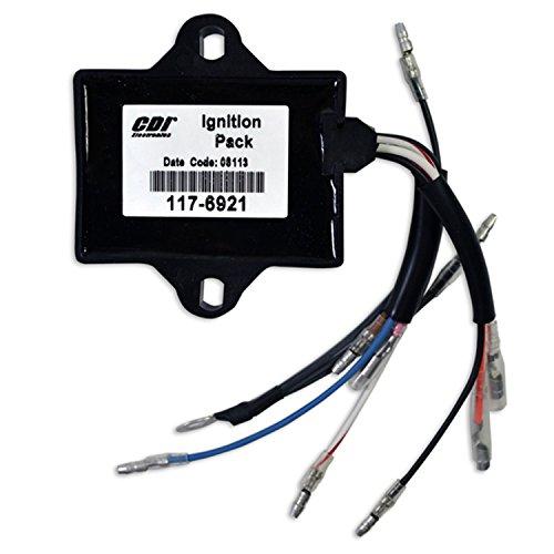 CDI Electronics 117-6921 Yamaha Ignition Pack - 2 Cyl (1986-2005) by CDI Electronics