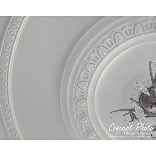 Ekena Millwork CM28BE Ceiling Medallion, Primed