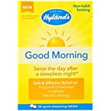 Hyland's Good Morning Tablets, Natural Relief of Fatigue and Drowsiness, 50 Count
