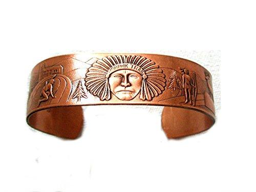 Mens Copper Bracelet Southwest Design product image