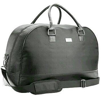 f05705e1b HUGO BOSS PARFUMS BLACK MENS SPORT/ WEEKEND BAG /HOLDALL /LARGE TRAVEL BAG:  Amazon.co.uk: Luggage