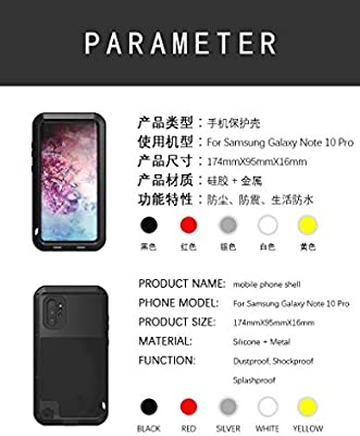Amazon.com: Galaxy Note 10 Plus Case,HuiFlying Newest ...