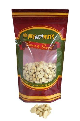 Macadamia, Raw, Unsalted, Shelled, Bulk - We Got Nuts (1 LB.)