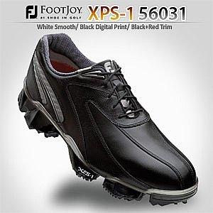 FootJoy Mens XPS-1 Golf Shoes : Black-Black Medium 8.5