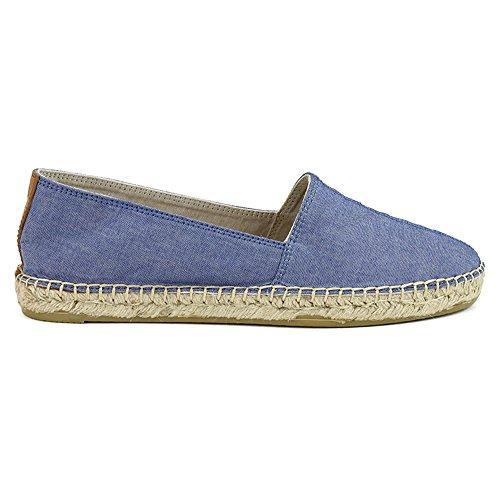 Joie Et Mario Femmes Majorca Mocassins Chaussures Denim Bleu