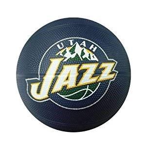 fan products of Spalding NBA Utah Jazz Mini Rubber Basketball