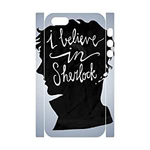 WJHSSB Cell phone Protection Cover 3D Case Sherlock For Iphone 5,5S