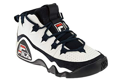 Fila 95 Sneakers Bianco Blu 1010491.98F (46 - Bianco)