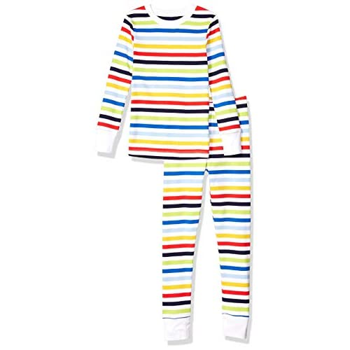 Amazon Essentials Toddler and Kids' Long-Sleeve Tight-fit 2-Piece Pajama Set
