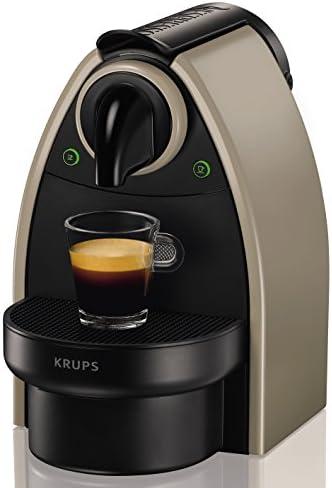 Nespresso XN2140P4 Cafetera Essenza autovisión, 1260 W, Acero Inoxidable, Visón: Amazon.es: Hogar