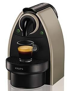 Nespresso XN 2140 - Cafetera monodosis, 1260 W, 19 bares, capacidad de 1 l, color marrón