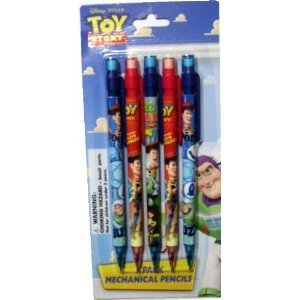 Mickey B007COXF6I Mouse Mechanical Pencil 5 Pack - Mouse - Kids School Supplies B007COXF6I, バレーボール館:94d7f737 --- ijpba.info