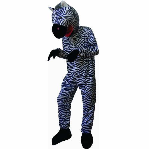 Dress Up America Sweet Striped Zebra Costume - Adult]()